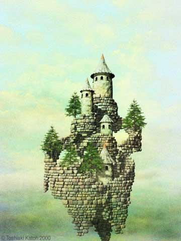 ceci n'est pas un chateau dans les pyrénées